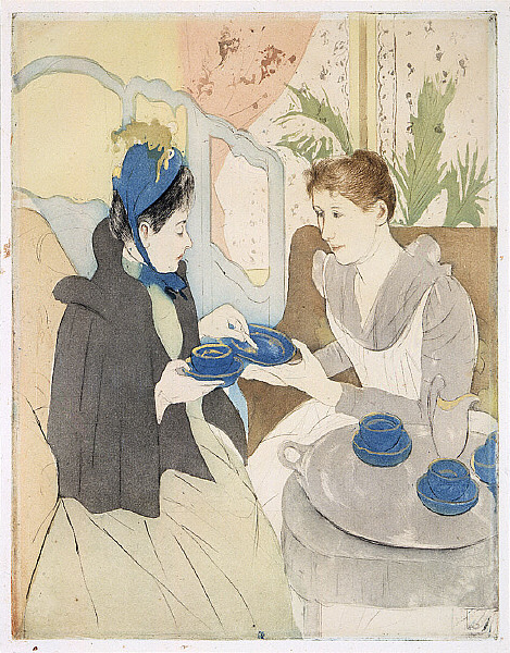 by the wonderful kitchen artist Mary Cassatt