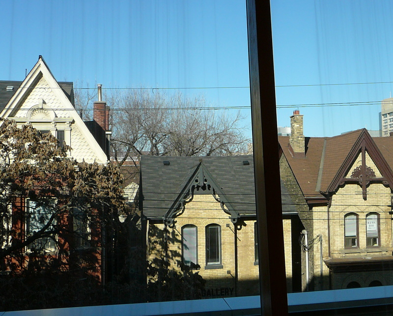 View from the AGO window