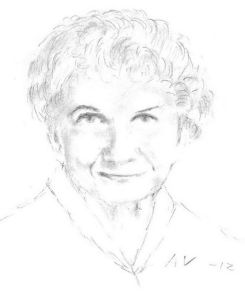 Alice Munro by Andreas Vartdal