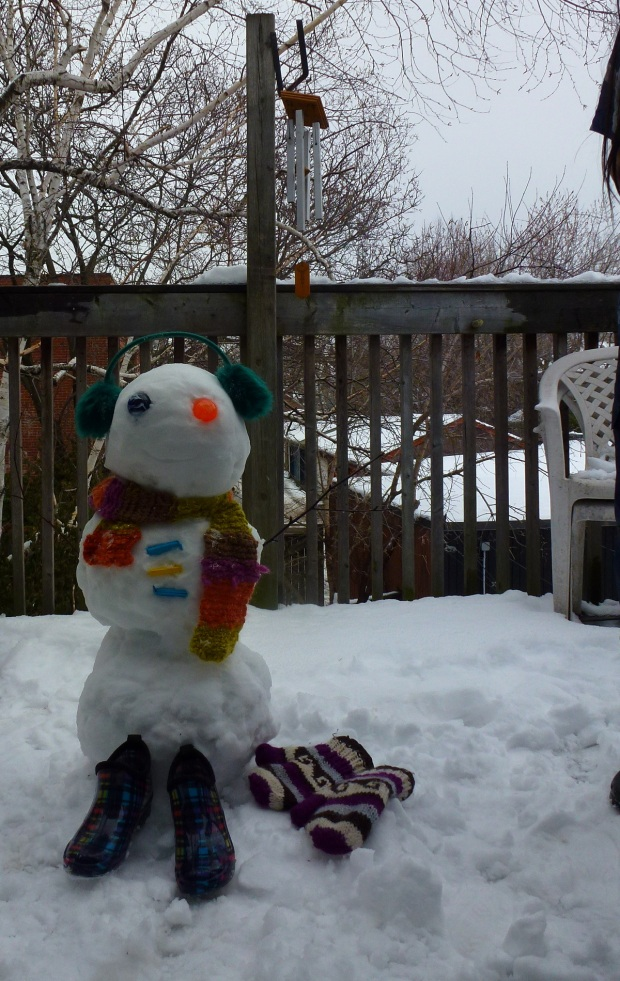 Snow Friend (click to enlarge)